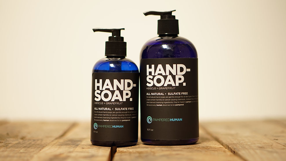Hand Soap Ingredients - Pampered Human All Natural Bath & Body